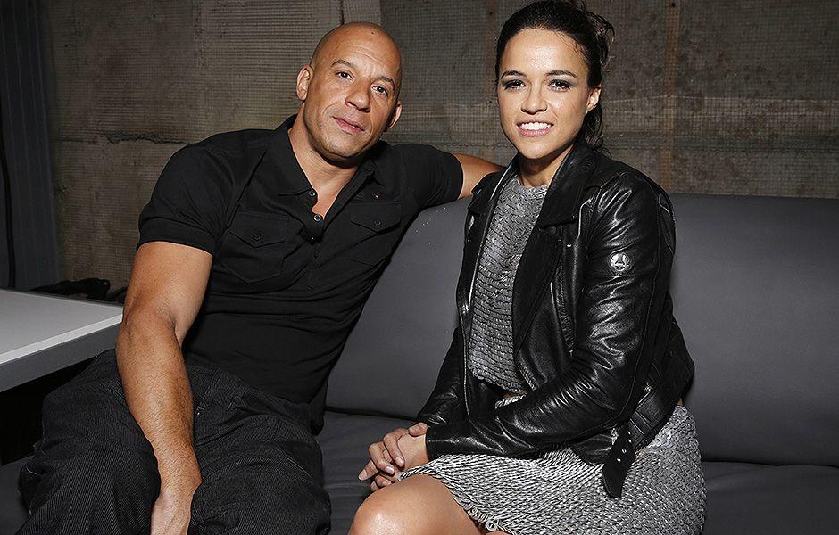 Vin Diesel And Michelle Rodriguez 2013 Vin Diesel and Michelle