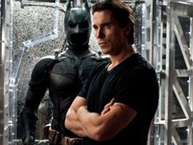 "Christian Bale in ""Dark Knight Rises"""