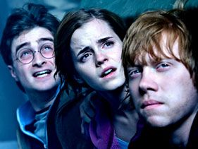 Daniel Radcliffe, Emma Watson and Rupert Grint in &quot;Harry Potter and the Deathly Hallows - Part 2&quot;