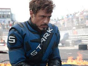 "Robert Downey Jr. in ""Iron Man 2"""