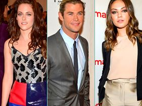 Kristen Stewart, Chris Hemsworth and Mila Kunis