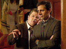 "Patton Oswalt and Steve Carell in ""Seeking a Friend for the End of the World"""