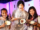 Austin Mahone Leaves Pie-Faced Live From MTV