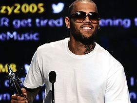 Chris Brown at the 2012 BET Awards