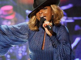 Mary J. Blige performs at BET's 2011 Black Girls Rock!