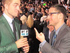 Robert Pattinson and Josh Horowitz