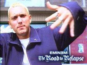 "Eminem in ""My Name Is"" video in 1999"