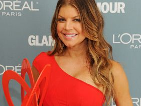 Fergie attends the Glamour Magazine 2010 Women of the Year Gala at Carnegie Hall on November 8, 2010 in New York City
