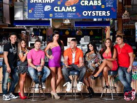"The cast of ""Jersey Shore"""