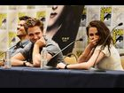 "Lautner, Pattinson and Stewart attend the ""Breaking Dawn"" panel"