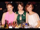 Jessica Chastain, Emma Stone and Ahna O'Reilly  at the 16th Annual Critics' Choice Movie Awards