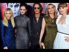 Chloe Moretz, Eva Green, Johnny Depp, Michelle Pfeiffer and Bella Heathcote