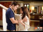 "Robert Pattinson and Kristen Stewart in ""The Twilight Saga: Breaking Dawn - Part 1"""