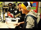 Justin Bieber sits down for an exclusive interview at the Elvis Duran Morning Show at Z100 Studio on November 17