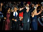 First Lady Michelle Obama, President Barack Obama, Vice-President Joe Biden and Jill Biden