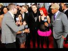 MTV News' James Montgomery, Snooki and Sway with Paramore