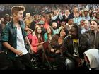 Justin Bieber makes a surprise appearance at the Kids' Choice Awards 2012