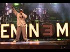 "Eminem rehearses the day before the 2000 VMAs in NYC where he performed ""The Real Slim Shady and ""The Way I Am"""