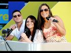 Jersey Shore's Deena, Ronnie and Sammi at MTV Spring Break 2012 at Palms Casino Resort in Las Vegas, Nevada.
